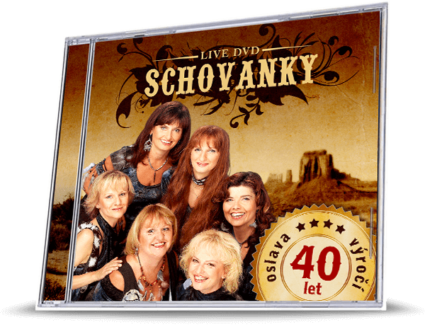 Schovanky - live CD 40 let